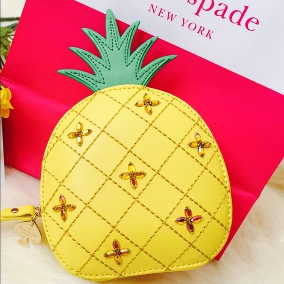 c99ffd836d40 kate spade Bags | New York Pineapple Coin Purse Wallet | Poshmark